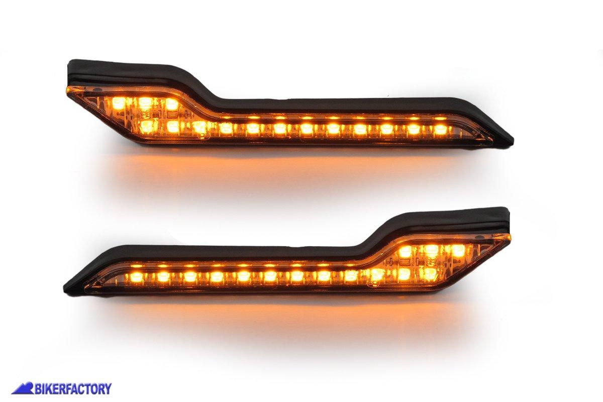 /2007 Frecce LED anteriore Indicatore di direzione lampeggiante indicatore direzione lampada per Suzuki Hayabusa 1999/