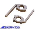 BikerFactory Clamp di aggancio per paramani Barkbusters VPS MX %28ricambio%29 B 060 1033498