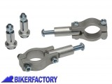 BikerFactory Kit di fissaggio diritto paramani BARKBUSTER per manubri %C3%9828.6 mm BTC 00 1033500