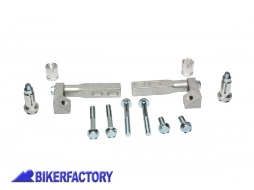 BikerFactory Kit per aggancio a colletto forcelle per paramani BARKBUSTERS TCM 1033499