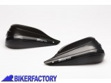 BikerFactory Plastiche STORM sostitutive per paramani BARKBUSTERS STM 003 00 BK 1023772