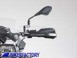 BikerFactory Kit paramani KOBRA SW Motech per KAWASAKI ER 6n %28%2712 in poi%29 e mod. con manubrio antivibrazione SW Motech. HPR.00.220.20900 B 1024091