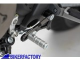 BikerFactory Leva pedale cambio regolabile SW Motech per DUCATI Monster 821 1200 1200 S 1200 R e SuperSport S FSC.22.511.10000 1033265