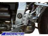 BikerFactory Kit riposizionamento regolabile pedane e cambio per una guida pi%C3%B9 confortevole x BMW R 1100 S reposizioning Kit adjustable footrest and gear to a more confortable ride BKF.00.07.2730 1001568