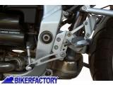 BikerFactory Kit riposizionamento regolabile pedane e cambio per una guida pi%C3%B9 confortevole x BMW R 1100 S reposizioning Kit adjustable footrest and gear to a more confortable ride BKF.00.07.2730 1001568