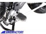 BikerFactory Pedane maggiorate maggiorate regolabili SW Motech x TRIUMPH TIGER EXPLORER 1200 Tiger 800 e Tiger 800 XC FRS.11.011.10101 S 1020703