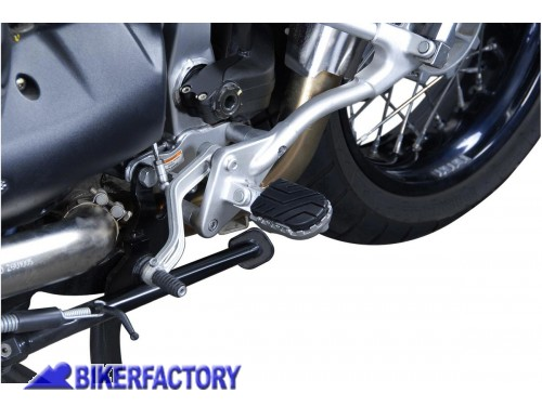 BikerFactory Pedane maggiorate regolabili ION SW Motech FRS.17.011.10001 S 1000786