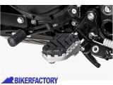 BikerFactory Pedane maggiorate regolabili SW Motech x BMW F 800 GS e F 700 GS. FRS.07.011.10100 S 1004066