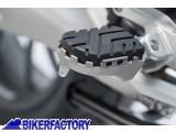 BikerFactory Pedane maggiorate regolabili SW Motech x BMW R 1200 R RS FRS.07.011.10600 S 1032881