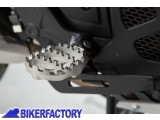 BikerFactory Pedane maggiorate regolabili SW Motech x HONDA NC 700 e 750 Crossrunner Crosstourer e SUZUKI SV 650 ABS FRS.01.011.10302 S 1024365