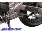 BikerFactory Pedane maggiorate regolabili SW Motech x KAWASAKI FRS.08.011.10000 S 1000749