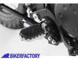 BikerFactory Pedane maggiorate regolabili SW Motech x KAWASAKI KLR 650 E FRS.08.011.10200 S 1002376