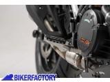 BikerFactory Pedane maggiorate regolabili SW Motech x KTM Duke%2C LC8 e Supermoto FRS.04.011.10100 S 1002375