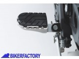 BikerFactory Pedane maggiorate regolabili SW Motechi x APRILIA Dorsoduro e Husqvarna Nuda 900 FRS.13.011.10101 S 1002377