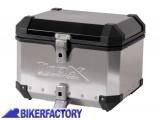 BikerFactory Bauletto %28top case%29 in alluminio mod. TRAX EVO colore ARGENTO %2A%2APROMOZIONE VALIDA FINO AD ESAURIMENTO SCORTE%2A%2A ALK.00.165.15000 S Promo 1023909