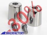 BikerFactory Bilanceri manubrio in acciaio per BMW F650GS%2C DAKAR e SCARVER  %2A%2APROMOZIONE VALIDA FINO AD ESAURIMENTO SCORTE%2A%2A 3293 Promo 1014407