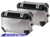 BikerFactory Coppia Borse laterali moto in alluminio TRAX colore argento %2A%2APROMOZIONE VALIDA FINO AD ESAURIMENTO SCORTE%2A%2A TRAX02 Promo 1014037