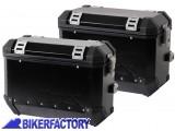 BikerFactory Coppia Borse laterali moto in alluminio TRAX colore nero %2A%2APROMOZIONE VALIDA FINO AD ESAURIMENTO SCORTE%2A%2A TRAX01 Promo 1014036