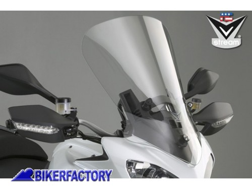 BikerFactory Cupolino Parabrezza VSTREAM%C2%AE National Cycle mod. TALL TOURING x DUCATI Multistrada 1200 %2A%2ADIMOSTRATIVO EX FIERA%2A%2A N20500 Promo 1018438