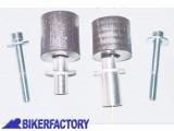 BikerFactory Tamponi paratelaio salva motore salva carena x BMW K1200 R. 3027 1023698