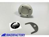 BikerFactory Tappo olio motore colore argento con logo  %2A%2APROMOZIONE VALIDA FINO AD ESAURIMENTO SCORTE%2A%2A 2508 Promo 1014425