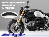 BikerFactory Parafango anteriore MAGGIORATO Pyramid in fibra di carbonio PY07.294000A 1032136