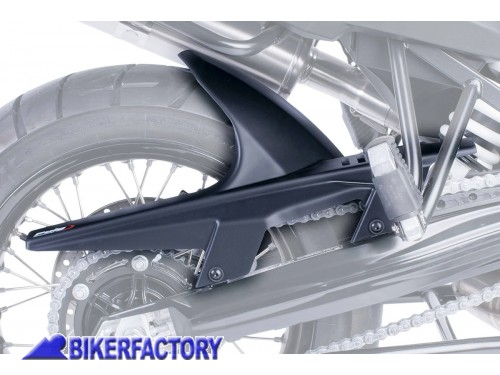 BikerFactory Parafango posteriore PUIG colore nero opaco x BMW F650GS F800GS PU07.M5865J 1044246