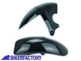 BikerFactory Parafango posteriore Pyramid colore Gloss Black %28nero lucido%29 PY07.07400 1019393