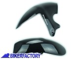 BikerFactory Parafango posteriore Pyramid colore Gloss Black %28nero lucido%29 PY07.07402 1019391