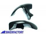 BikerFactory Parafango posteriore Pyramid colore Gloss Black %28nero lucido%29 PY07.07410 1019412