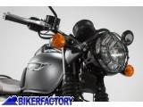 BikerFactory Protezione faro SW Motech x TRIUMPH Bonneville T120 e Thruxton 1200 R LPS.11.743.10000 B 1034446