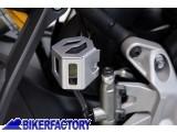BikerFactory Protezione serbatoio posteriore liquido freni SW Motech x BMW F 650 Twin F 800 GS DUCATI Monster 1200 R SCT.07.174.10100 S 1012660