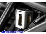 BikerFactory Protezione serbatoio posteriore liquido freni SW Motech x BMW F 700 GS e F 800 GS Adventure SCT.07.174.10600 S 1024968