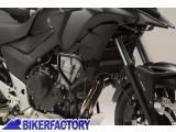 BikerFactory Protezione motore carena paracilindri tubolare SW Motech nero x HONDA CB 500 X %28%2716 in poi%29 SBL.01.746.10000 B 1034144