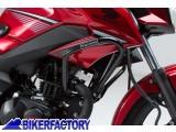 BikerFactory Protezione motore carena paracilindri tubolare SW Motech per HONDA CB 125 F SBL.01.492.10000 B 1033431
