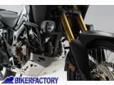 BikerFactory Protezione motore carena paracilindri tubolare SW Motech per HONDA CRF 1000 L Africa Twin SBL.01.622.10002 B 1033710