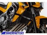 BikerFactory Protezione motore carena paracilindri tubolare SW Motech x Honda CB650F %28%2714 in poi%29 SBL.01.529.10000 B 1028596