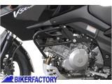 BikerFactory Protezione motore paracilindri Tubolare SW Motech x KAWASAKI KLV 1000 SUZUKI DL 1000 V Strom SBL.05.170.100 1000771