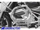 BikerFactory Protezione motore paracilindri tubolare SW Motech colore ARGENTO x BMW R1200GS LC %28%2713 in poi%29 SBL.07.783.10001 S 1027927