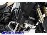 BikerFactory Protezione motore paracilindri tubolare SW Motech colore NERO x BMW F 800 GS Adventure %28%2713 in poi%29 SBL.07.427.10000 B 1024970