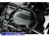 BikerFactory Protezione motore paracilindri tubolare SW Motech colore NERO x BMW R1200GS LC %28%2713 in poi%29 SBL.07.783.10001 B 1027928