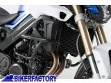 BikerFactory Protezione motore paracilindri tubolare SW Motech colore argento x BMW F 800 R F 800 S SBL.07.304.100 S 1000309