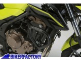 BikerFactory Protezione motore paracilindri tubolare SW Motech nero x HONDA CB 500 F %28%2713 in poi%29 SBL.01.399.10001 B 1024569