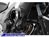 BikerFactory Protezione motore paracilindri tubolare SW Motech nero x HONDA CB 500 X %28%2713 %2715%29 SBL.01.380.10001 B 1024570