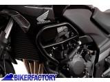 BikerFactory Protezione motore paracilindri tubolare SW Motech nero x HONDA CBF 1000 F %28%2709 %2711%29 SBL.01.110.10000 B 1019038