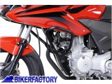 BikerFactory Protezione motore paracilindri tubolare SW Motech nero x HONDA CBF 125 SBL.01.694.10000 B 1000503