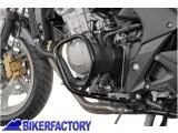 BikerFactory Protezione motore paracilindri tubolare SW Motech nero x HONDA CBF 600 S %28%2708 in poi%29. SBL.01.535.100 1000530