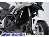BikerFactory Protezione motore paracilindri tubolare SW Motech nero x HONDA NC 700 X XD S SD%2C NC 750 S SD X XD SBL.01.132.10000 B 1019659