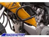 BikerFactory Protezione motore paracilindri tubolare SW Motech nero x HONDA XL 700 V Transalp %28%2708 in poi%29 SBL.01.466.100 1000585