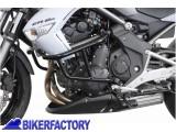 BikerFactory Protezione motore paracilindri tubolare SW Motech nero x KAWASAKI ER 6N %28%2709 %2711%29 SBL.08.679.10000 B 1000739